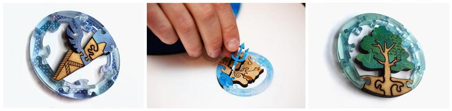 拼图激光切割机,拼图激光切割,激光切割拼图