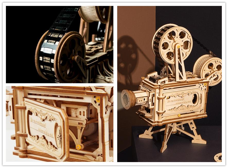 电影放映机激光切割