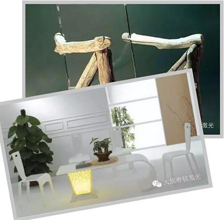 床头激光,现代家居装饰的新科技_激光粤铭大族起点家具价钱香河的图片